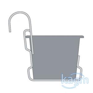 blumenkasten untersetzer halterung balkonkasten neu ebay. Black Bedroom Furniture Sets. Home Design Ideas